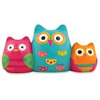 Stephen Joseph® Owl Spend, Save, and Share Bank in Blue