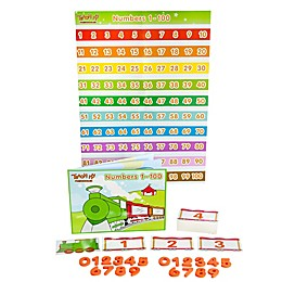 Teach My Preschooler Numbers 1-100 Learning Set