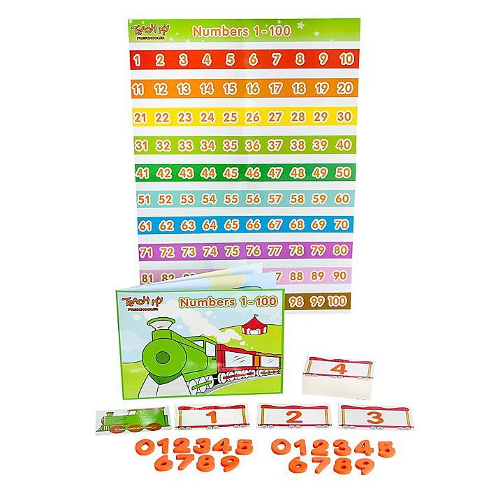 Alternate image 1 for Teach My Preschooler Numbers 1-100 Learning Set