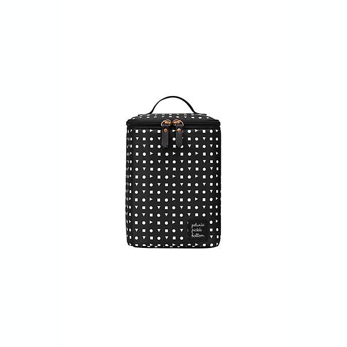 Alternate image 1 for Petunia Pickle Bottom Geometric Cool Pixel Plus Bottle Holder in Black