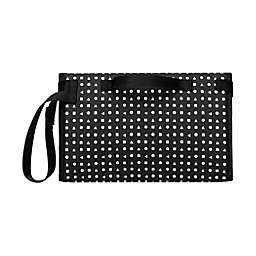 petunia pickle bottom Geometric Nimble Diaper Clutch in Black