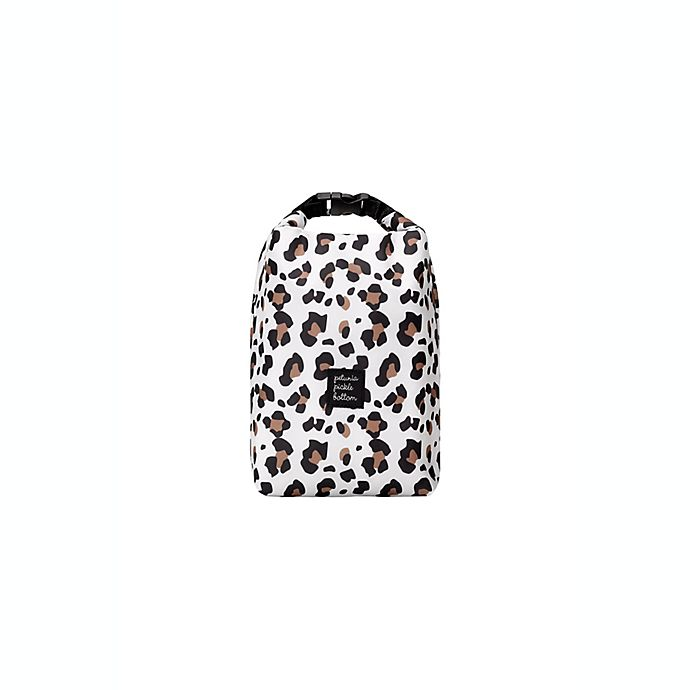 Alternate image 1 for petunia pickle bottom Sip Double Bottle Holder in Leopard