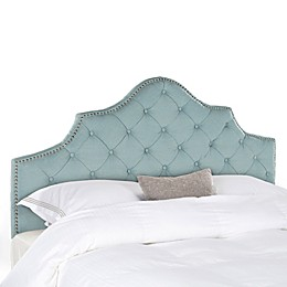 Safavieh Arebelle Tufted Headboard in Taupe