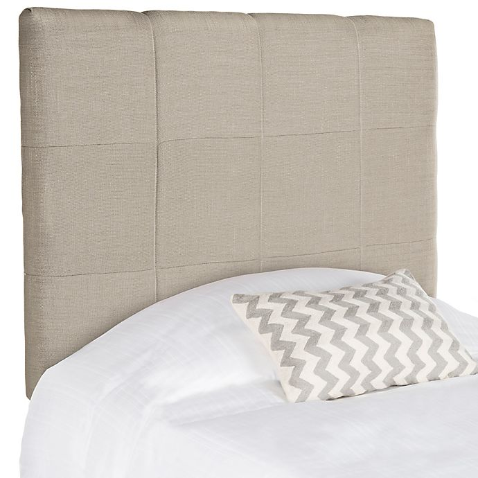 Alternate image 1 for Safavieh Quincy Twin Headboard in Oyster