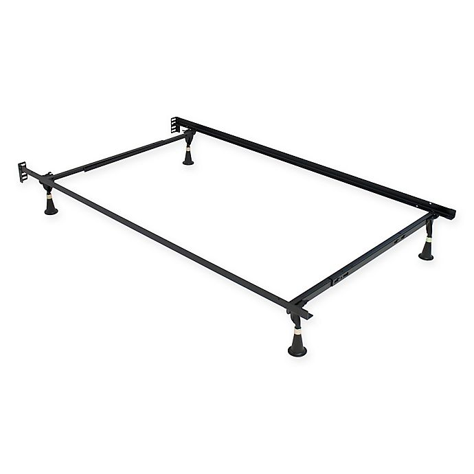 Alternate image 1 for Serta® Stabl-Base® Premium Twin/Full Bed Frame with Glides in Black