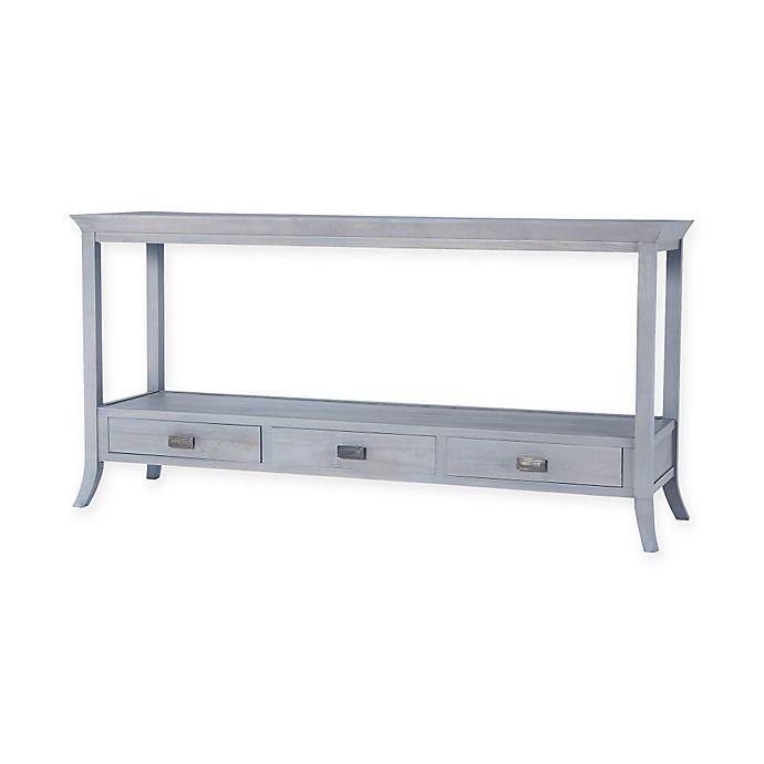 Alternate image 1 for Tamara Mahogany Console Table in Grey
