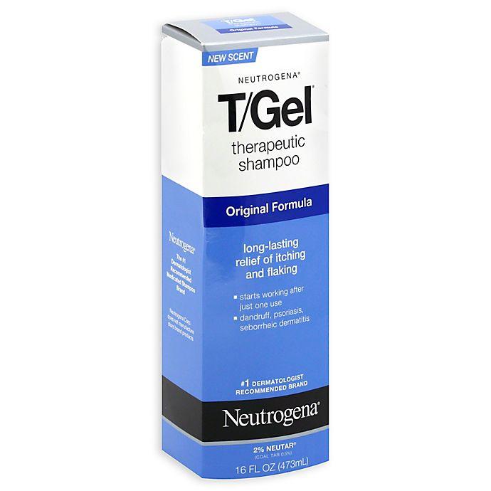Alternate image 1 for Neutrogena® T/Gel® 16 oz. Therapeutic Shampoo Original Formula