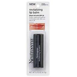 Neutrogena® .15 oz. Revitalizing Lip Balm SPF 20 in Sheer Shimmer 10