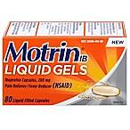 Motrin® IB 80 Count Liquid Gels