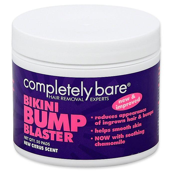 Completely Bare 50-Count bikini bump BLASTER Ingrown Hair