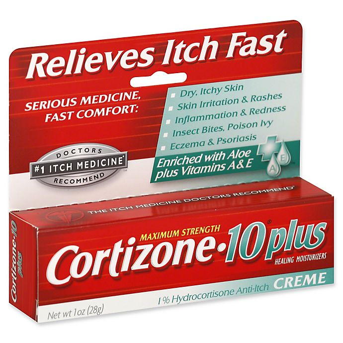 Alternate image 1 for Cortizone 10® Plus 1 oz. Ultra Moisturizing Hydrocortisone Anti-Itch Creme
