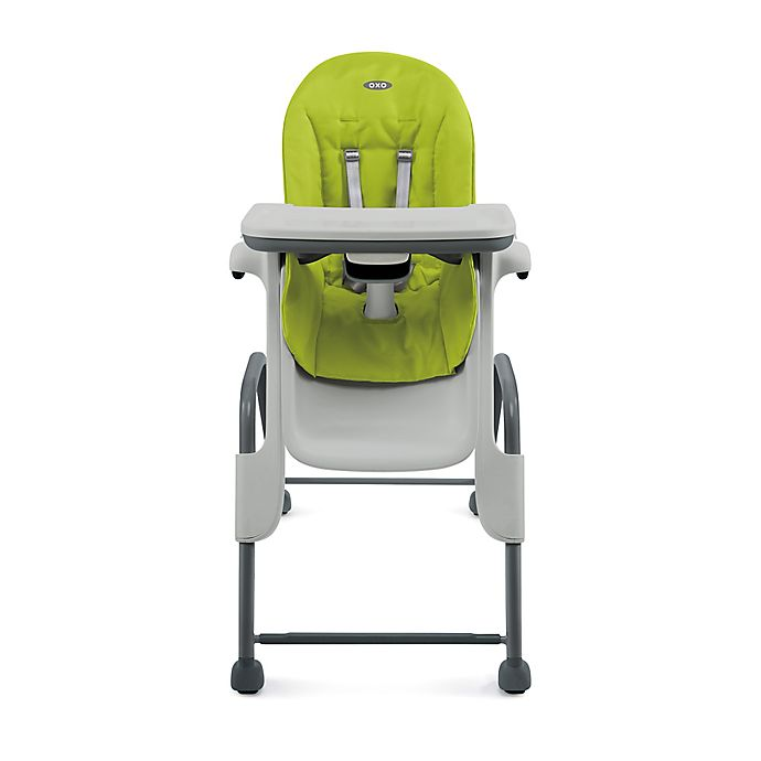 Tremendous Oxo Tot Seedling High Chair In Green Dark Grey Alphanode Cool Chair Designs And Ideas Alphanodeonline