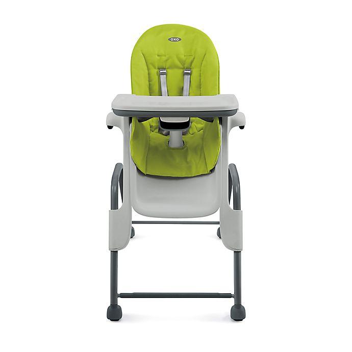 Swell Oxo Tot Seedling High Chair In Green Dark Grey Ncnpc Chair Design For Home Ncnpcorg