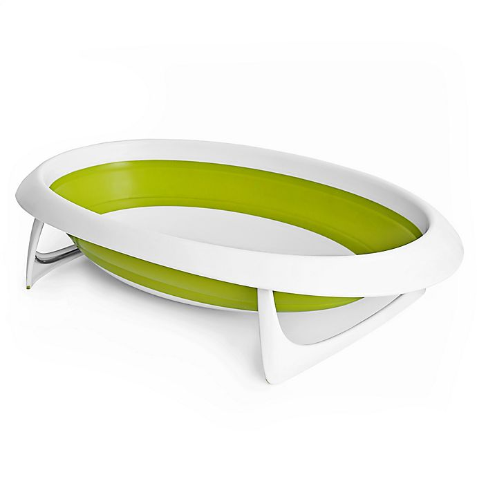 Alternate image 1 for Boon Naked 2-Position Collapsible Baby Bath Tub