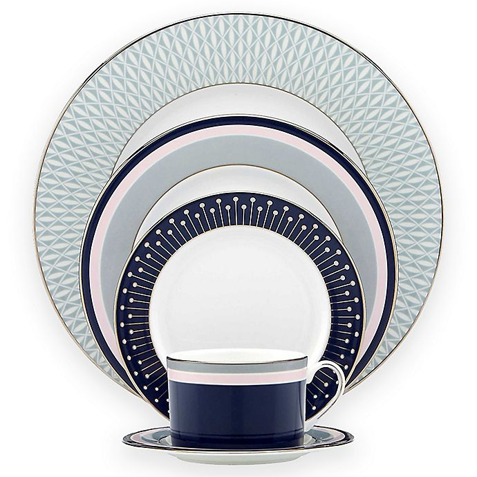 Alternate image 1 for kate spade new york Mercer Drive™ 5-Piece Place Setting