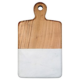 Artisanal Kitchen Supply® 13-Inch Acacia and Marble Cheese Board