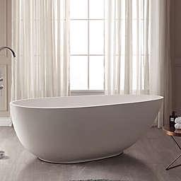 Avanity Gaia Abt1512 Gl 67 Inch X 33 5 Acrylic Freestanding Bath Tub In