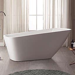 Avanity Rain Abt1529 Gl 66 7 Inch X 28 Acrylic Bath Tub In