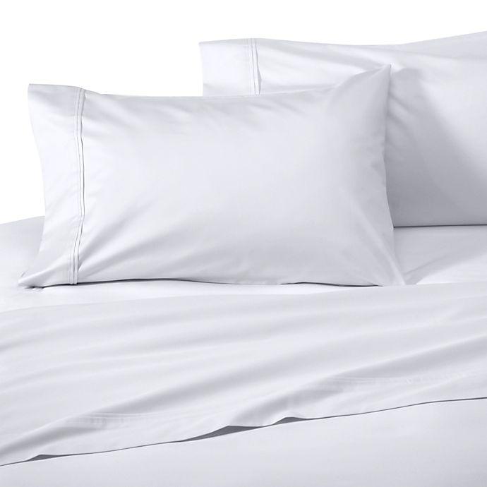 Wamsutta Supima Supreme Luxury Queen Flat Sheet In White
