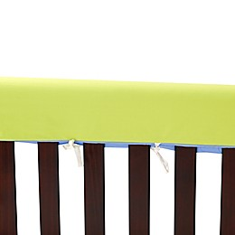 Go Mama Go Designs® 52-Inch x 12-Inch Cotton Couture Teething Guards in Lime/Periwinkle