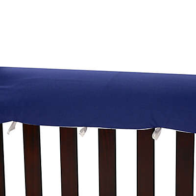 Go Mama Go Designs® 52-Inch x 12-Inch Cotton Couture Teething Guards in Navy/White