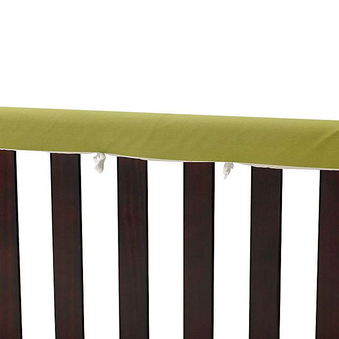 Alternate image 1 for Go Mama Go Designs® 52-Inch x 6-Inch Cotton Couture Teething Guards in Sage/Khaki