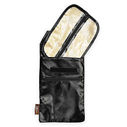 Go Mama Go® Designs Daddy Caddy Faux Leather Hands-Free Diaper Caddy in Black