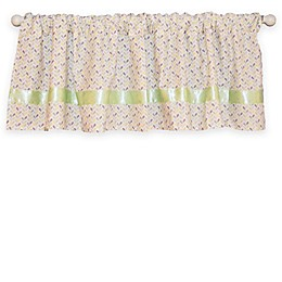 Go Mama Go® Designs Luxurious Love Petals Window Valance in Multicolor