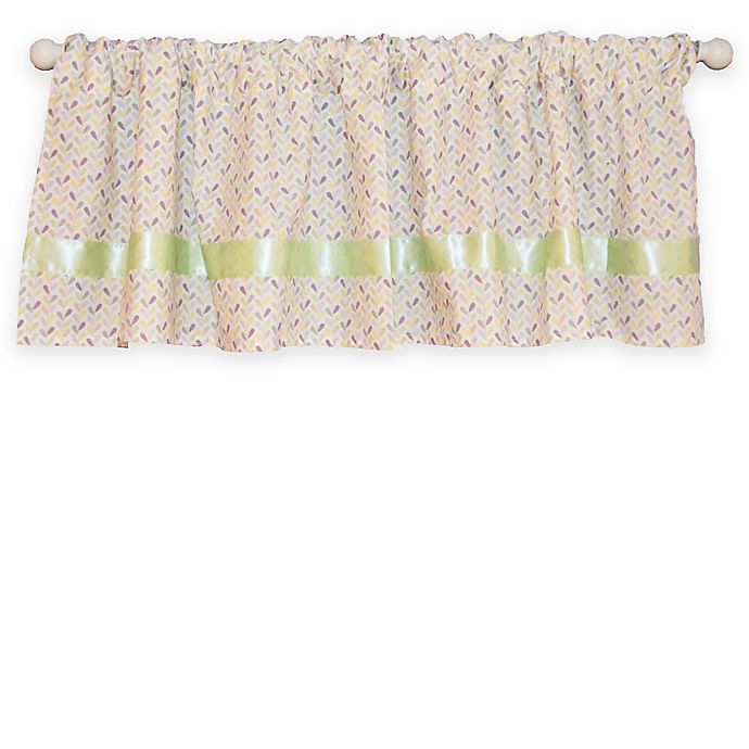 Alternate image 1 for Go Mama Go® Designs Luxurious Love Petals Window Valance in Multicolor
