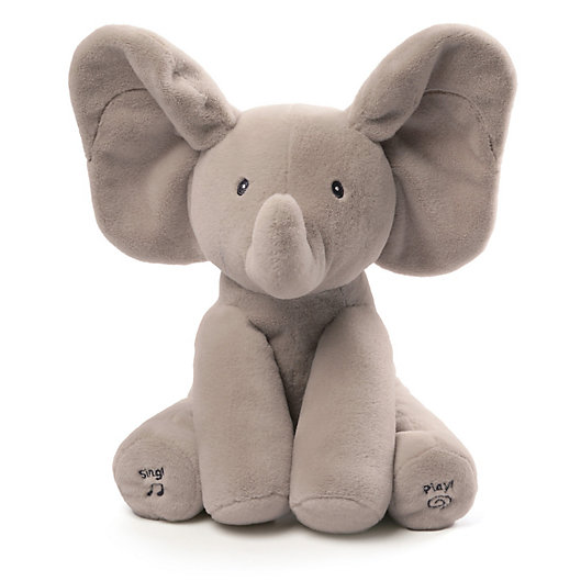 Alternate image 1 for GUND® Flappy the Elephant Animated Plush Toy in Grey