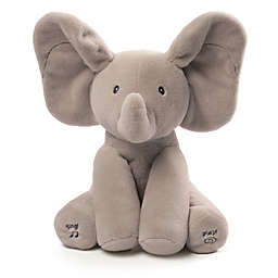 GUND® Flappy the Elephant Animated Plush Toy in Grey