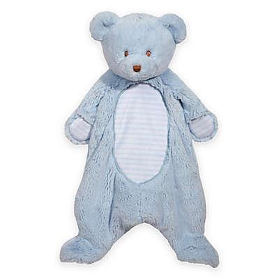 Bear Sshlumpie Blanket Plush in Blue