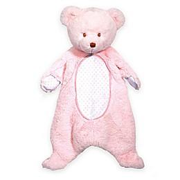 Bear Sshlumpie Blanket Plush in Pink