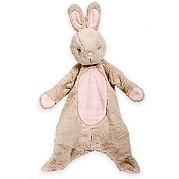 Bunny Sshlumpie Blanket Plush in Pink