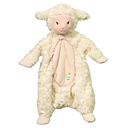Lamb Sshlumpie Blanket Plush in Cream