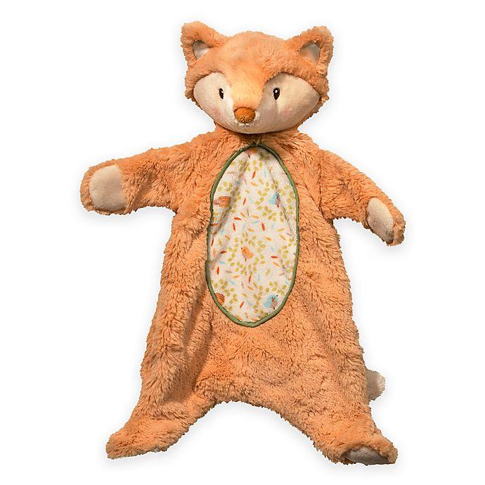 Alternate image 1 for Fox Sshlumpie Blanket Plush in Ivory/Orange