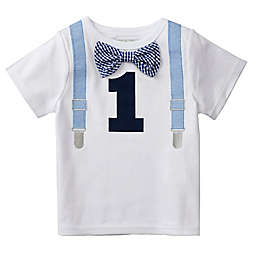Mud Piereg Size 18M 1st Birthday Bodysuit In White