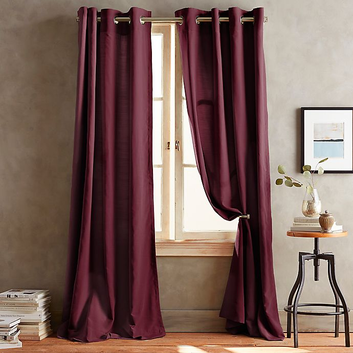 Alternate image 1 for DKNY Duet Grommet Window Curtain Panels