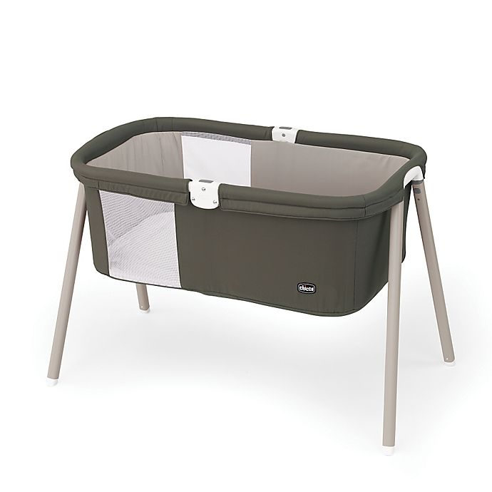 Alternate image 1 for Chicco® LullaGo™ Portable Bassinet in Brown