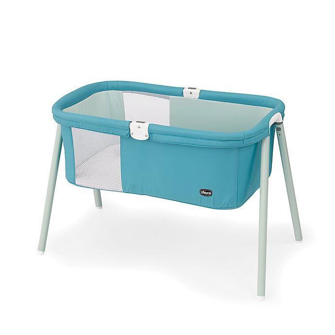 Alternate image 1 for Chicco® LullaGo™ Portable Basinet in Blue