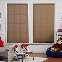 Baby Blinds Cordless Cellular Light Filtering Shade in Oat