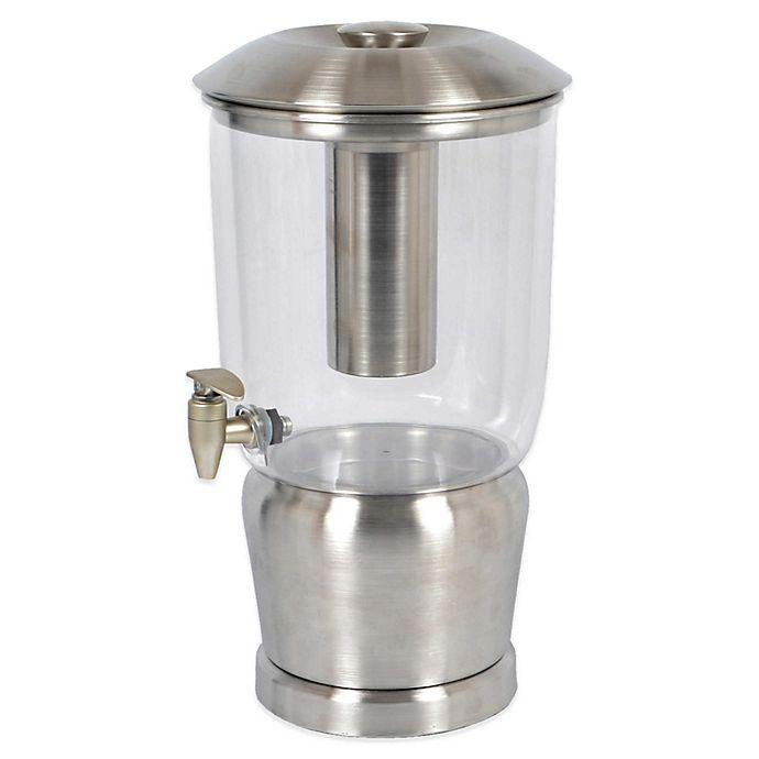 Alternate image 1 for Destination Summer Stainless Steel 3-Gallon Beverage Dispenser