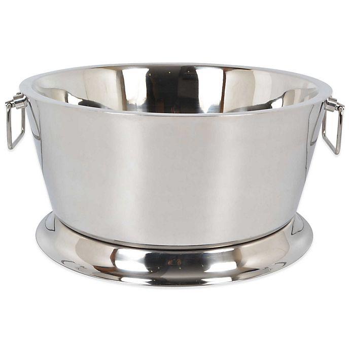 Alternate image 1 for Destination Summer Stainless Steel 17-Inch Beverage Tub