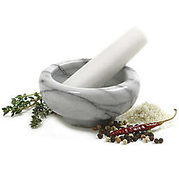 Norpro® Marble Mortar and Pestle in White