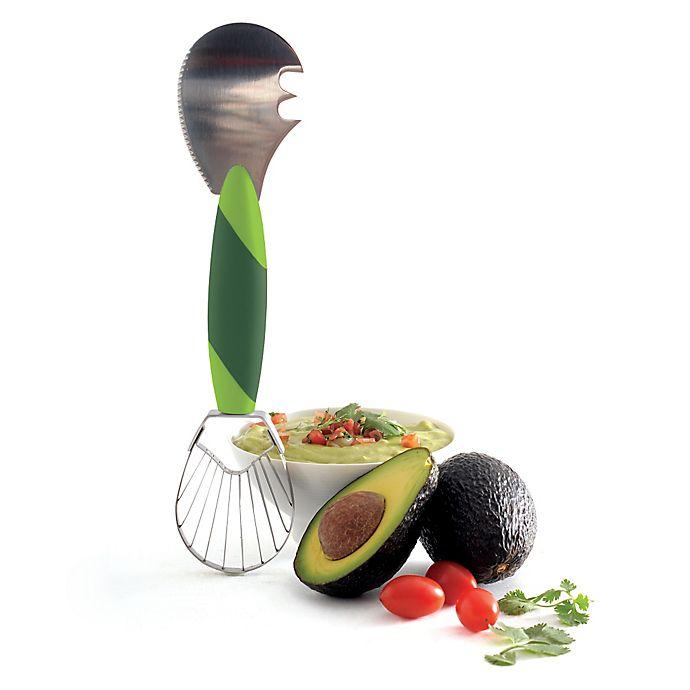 Alternate image 1 for Norpro® Grip-EZ 3-in-1 Avocado Tool in Green