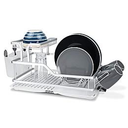 Home Basics® 2-Tier Aluminum Dish Rack
