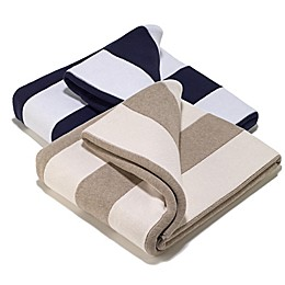 Aura Striped Throw Blanket