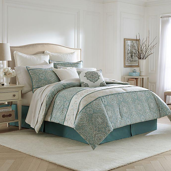 Laura Ashley Ardleigh Comforter Set In Light Blue Bed Bath Beyond