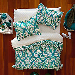 Aéropostale Katya 7-Piece Reversible Full Comforter Set in Turquoise