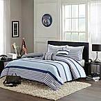 Intelligent Design Paul 5-Piece Full/Queen Comforter Set in Blue